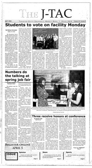 Primary view of The J-TAC (Stephenville, Tex.), Vol. 167, No. 9, Ed. 1 Thursday, April 1, 2004