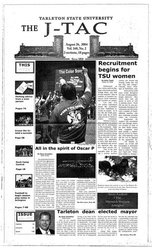 Primary view of The J-TAC (Stephenville, Tex.), Vol. 168, No. 2, Ed. 1 Thursday, August 26, 2004
