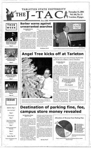 Primary view of The J-TAC (Stephenville, Tex.), Vol. 168, No. 13, Ed. 1 Thursday, November 11, 2004