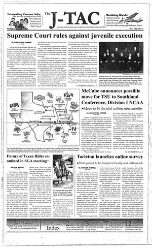The J-TAC (Stephenville, Tex.), Vol. 169, No. 7, Ed. 1 Thursday, March 3, 2005