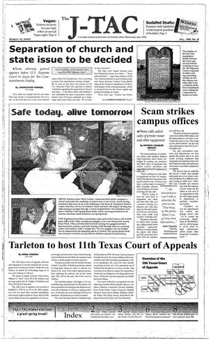 The J-TAC (Stephenville, Tex.), Vol. 169, No. 8, Ed. 1 Thursday, March 10, 2005
