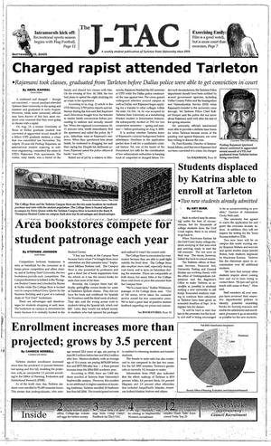 The J-TAC (Stephenville, Tex.), Vol. 170, No. 4, Ed. 1 Thursday, September 15, 2005
