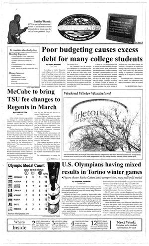 Primary view of The J-TAC (Stephenville, Tex.), Vol. 171, No. 5, Ed. 1 Thursday, February 23, 2006