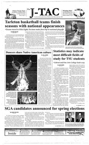 The J-TAC (Stephenville, Tex.), Vol. 171, No. 8, Ed. 1 Thursday, March 30, 2006