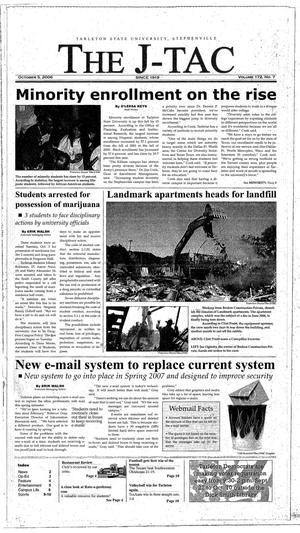 The J-TAC (Stephenville, Tex.), Vol. 172, No. 7, Ed. 1 Thursday, October 5, 2006