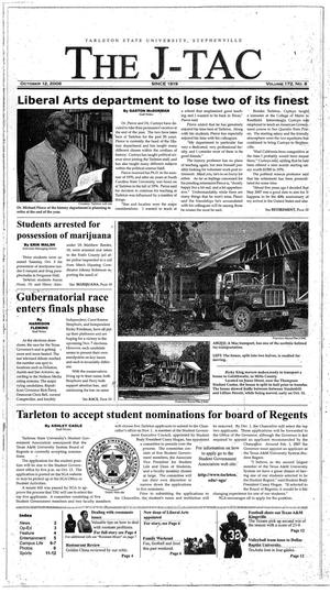 The J-TAC (Stephenville, Tex.), Vol. 172, No. 8, Ed. 1 Thursday, October 12, 2006