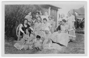 Primary view of object titled 'Costumed Ladies'.