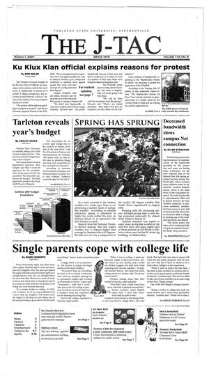 The J-TAC (Stephenville, Tex.), Vol. 173, No. 6, Ed. 1 Thursday, March 1, 2007