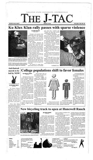 The J-TAC (Stephenville, Tex.), Vol. 173, No. 8, Ed. 1 Thursday, March 22, 2007