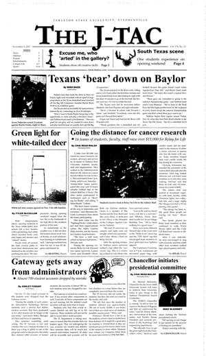 The J-TAC (Stephenville, Tex.), Vol. 178, No. 11, Ed. 1 Thursday, November 8, 2007