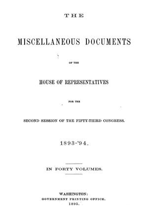 Primary view of object titled 'The War of the Rebellion: A Compilation of the Official Records of the Union And Confederate Armies. Series 1, Volume 46, In Three Parts. Part 3, Correspondence, etc.'.