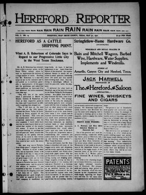 Hereford Reporter (Hereford, Tex.), Vol. 1, No. 15, Ed. 1 Friday, May 31, 1901