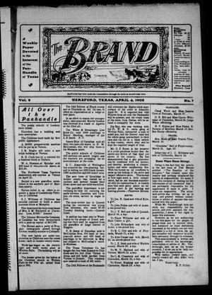 The Brand (Hereford, Tex.), Vol. 2, No. 7, Ed. 1 Friday, April 4, 1902