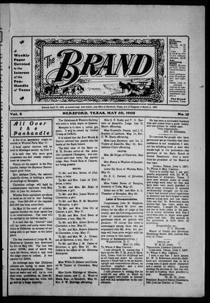 Primary view of object titled 'The Brand (Hereford, Tex.), Vol. 2, No. 15, Ed. 1 Friday, May 30, 1902'.