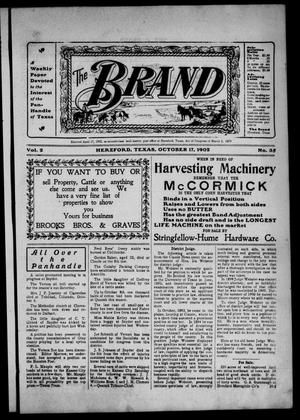The Brand (Hereford, Tex.), Vol. 2, No. 35, Ed. 1 Friday, October 17, 1902