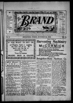 The Brand (Hereford, Tex.), Vol. 2, No. 36, Ed. 1 Friday, October 24, 1902
