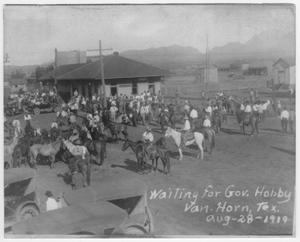 Primary view of object titled 'Old Settler's Day, 1919'.