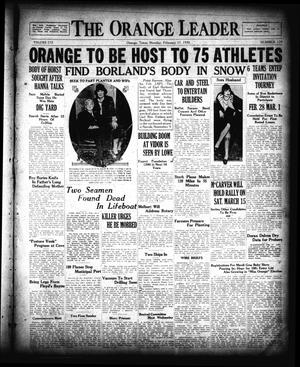 The Orange Leader (Orange, Tex.), Vol. 16, No. 179, Ed. 1 Monday, February 17, 1930
