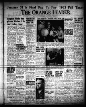 Primary view of object titled 'The Orange Leader (Orange, Tex.), Vol. 31, No. 18, Ed. 1 Sunday, January 23, 1944'.