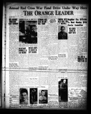 Primary view of object titled 'The Orange Leader (Orange, Tex.), Vol. 31, No. 58, Ed. 1 Friday, March 10, 1944'.