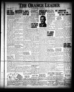 Primary view of object titled 'The Orange Leader (Orange, Tex.), Vol. 31, No. 113, Ed. 1 Sunday, May 14, 1944'.