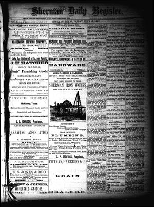 Sherman Daily Register (Sherman, Tex.), Vol. 2, No. 176, Ed. 1 Friday, June 17, 1887