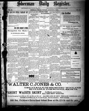 Sherman Daily Register (Sherman, Tex.), Vol. 15, No. 170, Ed. 1 Friday, August 31, 1900