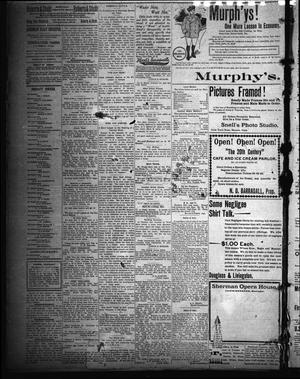 Sherman Daily Register (Sherman, Tex.), Vol. 15, No. 195, Ed. 1 Saturday, September 29, 1900