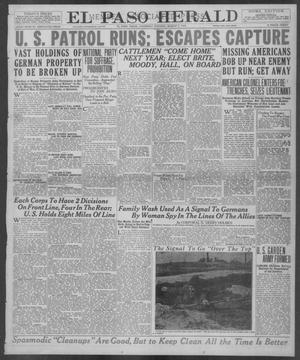 Primary view of object titled 'El Paso Herald (El Paso, Tex.), Ed. 1, Thursday, March 7, 1918'.