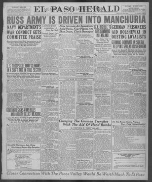 Primary view of El Paso Herald (El Paso, Tex.), Ed. 1, Tuesday, March 12, 1918