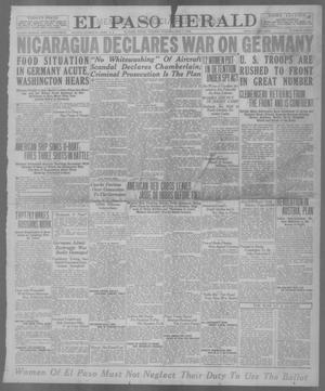 Primary view of object titled 'El Paso Herald (El Paso, Tex.), Ed. 1, Tuesday, May 7, 1918'.
