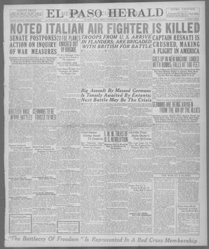 Primary view of El Paso Herald (El Paso, Tex.), Ed. 1, Friday, May 17, 1918