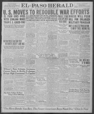 Primary view of El Paso Herald (El Paso, Tex.), Ed. 1, Wednesday, October 16, 1918