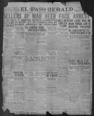 Primary view of object titled 'El Paso Herald (El Paso, Tex.), Ed. 1, Tuesday, July 1, 1919'.