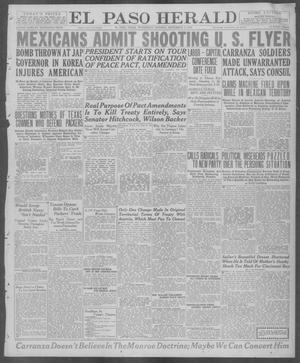 Primary view of object titled 'El Paso Herald (El Paso, Tex.), Ed. 1, Wednesday, September 3, 1919'.