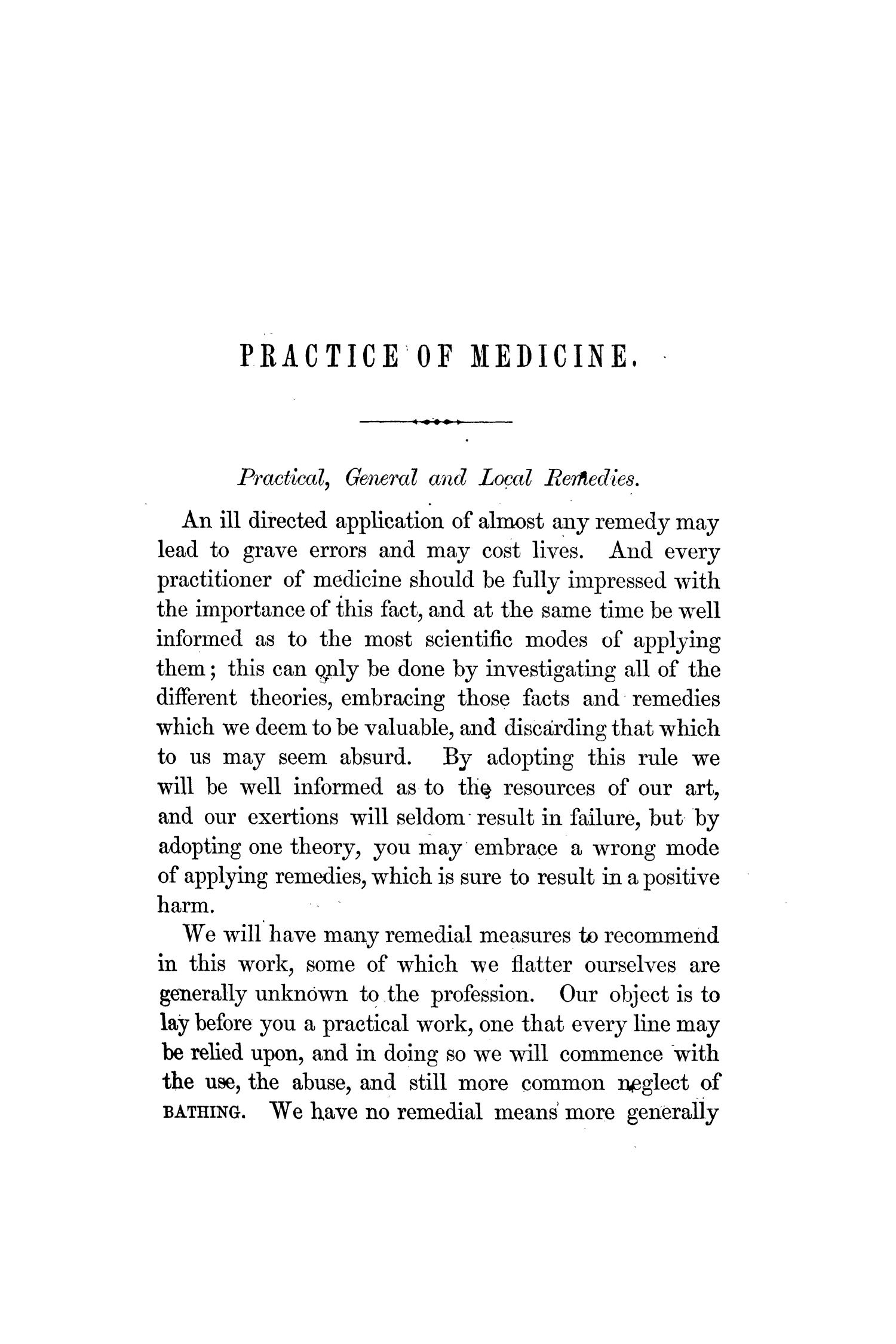A Treatise on the Eclectic Southern Practice of Medicine                                                                                                      [Sequence #]: 35 of 724