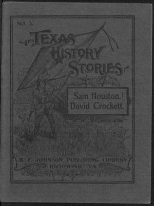 Primary view of object titled 'Sam Houston ; David Crockett.'.