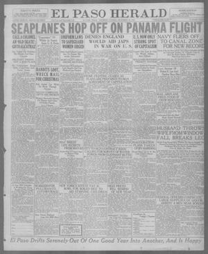Primary view of object titled 'El Paso Herald (El Paso, Tex.), Ed. 1, Thursday, December 30, 1920'.