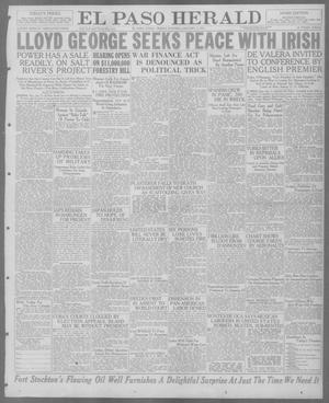 Primary view of object titled 'El Paso Herald (El Paso, Tex.), Ed. 1, Friday, January 7, 1921'.