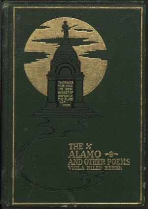 The Alamo, and other poems