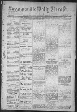 Brownsville Daily Herald (Brownsville, Tex.), Vol. NINE, No. 125, Ed. 1, Monday, November 26, 1900