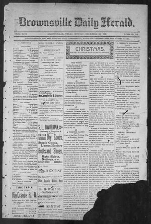 Primary view of object titled 'Brownsville Daily Herald (Brownsville, Tex.), Vol. NINE, No. 149, Ed. 1, Monday, December 24, 1900'.