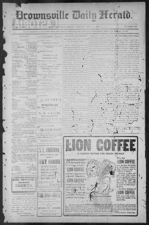 Primary view of object titled 'Brownsville Daily Herald (Brownsville, Tex.), Vol. NINE, No. 259, Ed. 1, Friday, May 3, 1901'.