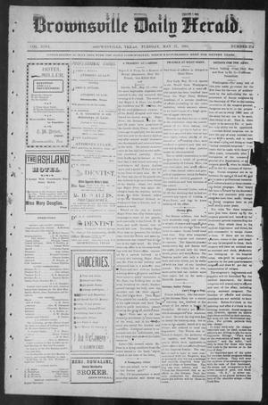 Primary view of object titled 'Brownsville Daily Herald (Brownsville, Tex.), Vol. NINE, No. 274, Ed. 1, Tuesday, May 21, 1901'.