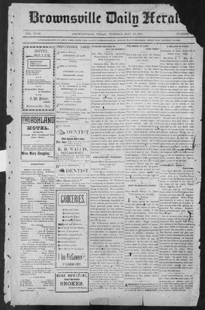 Primary view of object titled 'Brownsville Daily Herald (Brownsville, Tex.), Vol. NINE, No. 280, Ed. 1, Tuesday, May 28, 1901'.