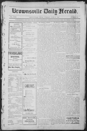 Primary view of object titled 'Brownsville Daily Herald (Brownsville, Tex.), Vol. NINE, No. 247, Ed. 1, Tuesday, June 11, 1901'.