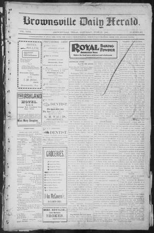 Primary view of object titled 'Brownsville Daily Herald (Brownsville, Tex.), Vol. NINE, No. 257, Ed. 1, Saturday, June 22, 1901'.