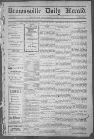 Primary view of object titled 'Brownsville Daily Herald (Brownsville, Tex.), Vol. 10, No. 137, Ed. 1, Friday, January 3, 1902'.