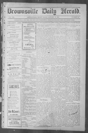 Primary view of object titled 'Brownsville Daily Herald (Brownsville, Tex.), Vol. 10, No. 148, Ed. 1, Friday, January 17, 1902'.