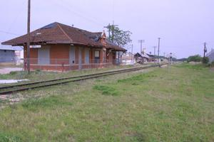 Primary view of object titled 'Comanche Train Depot'.